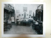 Interior of King Library, 1915.