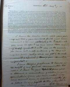 Benjamin F. Thompson to John Alsop King, 7 August 1838, John Alsop King Papers, Box 1834-1856, Folder 1824-1839